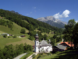 Maria Gern  Berchtesgadener Land  Bavaria  Germany  Europe
