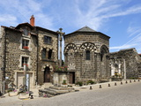 Chapel of Sainte Claire at Les Aiguilhe  Le Puy En Velay  Haute-Loire  Massif Central  France  Euro