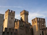 Castello Scaligero  Sirmione  Lake Garda  Lombardy  Italy  Europe