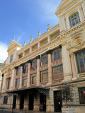 Facade of the Opera Theatre  Nice  Alpes Maritimes  Provence  Cote D'Azur  French Riviera  France