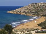Ramla Bay  Gozo  Malta  Mediterranean  Europe
