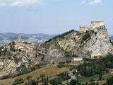 San Leo  Old Town and Castello  Emilia-Romagna  Italy  Europe