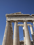 The Parthenon at the Acropolis  UNESCO World Heritage Site  Athens  Greece  Europe