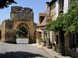 Porte Del Bos  Bastide Town  Domme  Les Plus Beaux Villages De France  Dordogne  France  Europe