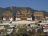 Songzanlin Tibetan Monastery  Yunnan  China  Asia