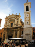 St Reparate Cathedral  Place Rosseti  Old Town  Nice  Alpes Maritimes  Provence  Cote D'Azur  Fren