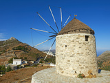 Windmill  Naxos  Cyclades Islands  Greek Islands  Greece  Europe