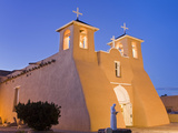 St Francis of Asis Church in Ranchos De Taos  Taos  New Mexico  United States of America  North Am
