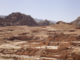 Ruins of the Great Temple in Petra  UNESCO World Heritage Site  Jordan  Middle East