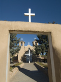 Old Mission of St Francis De Assisi  Built About 1710  Ranchos De Taos  New Mexico  United States