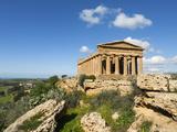 Tempio Di Concordia (Concord)  Valle Dei Templi  UNESCO World Heritage Site  Agrigento  Sicily  Ita