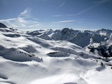 View from Nebelhorn to Allgau Alps Near Oberstdorf  Bavaria  Germany  Europe
