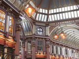 Leadenhall Market  London  England  United Kingdom  Europe