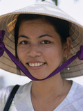 Portrait of Young Vietnamese Girl  Vietnam  Indochina  Southeast Asia  Asia