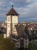 Schwabentor  Old Town  Freiburg  Baden-Wurttemberg  Germany  Europe