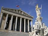 Parliament  Vienna  Austria  Europe