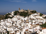 White Village of Casares  Sierra Bermeja  Andalusia  Spain  Europe