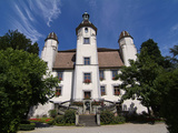 Castle  Bad Sackingen  Black Forest  Baden-Wurttemberg  Germany  Europe