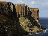 Kilt Rock  Famous Basaltic Cliff Near Staffin  Isle of Skye  Inner Hebrides  Scotland  United Kingd