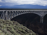 Bridge over the Rio Grande Gorge  Taos  New Mexico  United States of America  North America