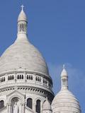 Sacre Coeur Basilica  Montmartre  Paris  France  Europe