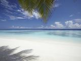Maldives Tropical Beach, Maldives, Indian Ocean, Asia Papier Photo par Sakis Papadopoulos
