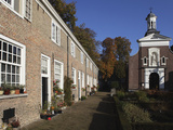 Chapel and Brick Housing Within the Courtyard of the Begijnhof (Beguinage) in Breda  Noord-Brabant 
