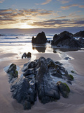 Combesgate Beach  Devon  England  United Kingdom  Europe