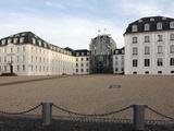Schlovuplatz and Palace  Saarbrucken  Saarland  Germany  Europe