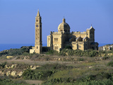 Ta' Pinu Church  Gharb  Gozo  Malta  Mediterranean  Europe