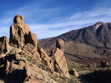 Las Canadas  Parque Nacional Del Teide  UNESCO World Heritage Site  Tenerife  Canary Islands  Spain
