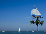 Sail Boats on the Solent  Cowes  Isle of Wight  England  United Kingdom  Europe