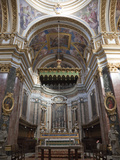 Interior St Paul's Cathedral  Mdina  Malta  Europe