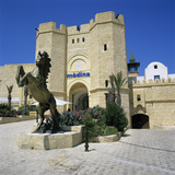 Gateway Entrance of the Medina Shopping and Restaurant Complex  Yasmine Hammamet  Cap Bon  Tunisia