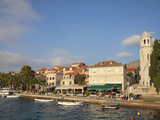 Traditional Fishing Boat and Waterfront  Cavtat  Dalmatia  Croatia  Europe