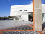 Exterior of the New Herta and Paul Amir Building of the Tel Aviv Museum of Art  Tel Aviv  Israel  M