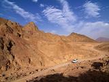 Four Wheel Drive Vehicle in the Desert Near Hurghada  Egypt  North Africa  Africa