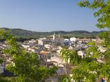 View across Rooftops of the Convent of Sant Antoni De Padua  Arta  Mallorca  Balearic Islands  Spai
