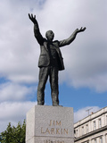 Jim Larkin Monument  O'Connell Street  Dublin  Republic of Ireland  Europe