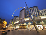 Alliance Sculpture by Metais  St David&#39;s Shopping Centre  Cardiff  South Wales  Wales  United King