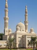 Jumeirah Mosque  Dubai City  Dubai  United Arab Emirates  Middle East