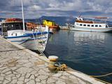 Fishing Boats in Corfu  Ionian Islands  Greek Islands  Greece  Europe