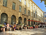 Fruit and Vegetable Market  Aix-En-Provence  Bouches-Du-Rhone  Provence  France  Europe