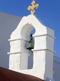 Church Bell Tower in Mykonos Town  Island of Mykonos  Cyclades  Greek Islands  Greece  Europe