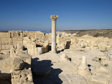 Ruins of Kourion  Near Episkopi  Cyprus  Europe