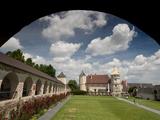 Courtyard of Renaissance Rosenburg Castle  Rosenburg  Niederosterreich  Austria  Europe