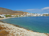 Karavostasis Village and Principal Port  Folegandros  Cyclades Islands  Greek Islands  Aegean Sea  