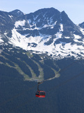 Whistler Blackcomb Peak 2 Peak Gondola  Whistler  British Columbia  Canada  North America