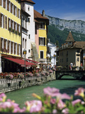 Annecy  Lake Annecy  Rhone Alpes  France  Europe
