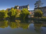 The Castle in the Beautiful Village of Montresor  Indre-Et-Loire  Loire Valley  Centre  France  Eur